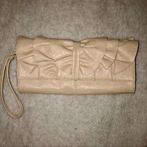 Authentic Steve Madden patent leather clutch